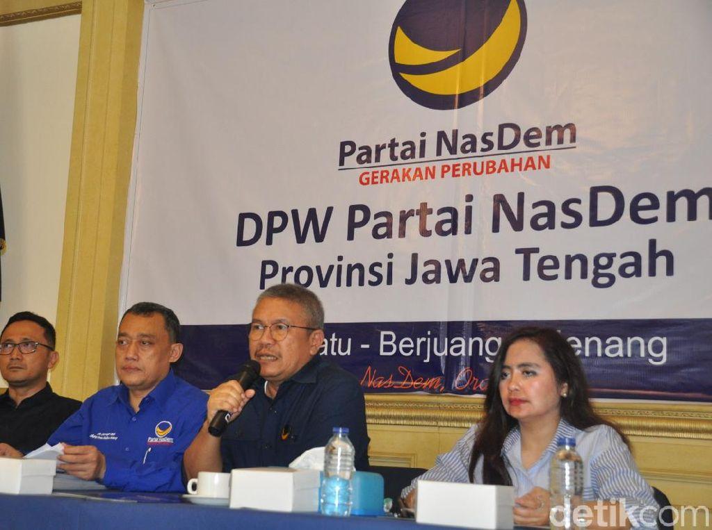 Pandemi Corona, NasDem Tunda Agenda Pelantikan Ketua DPD se-Jateng