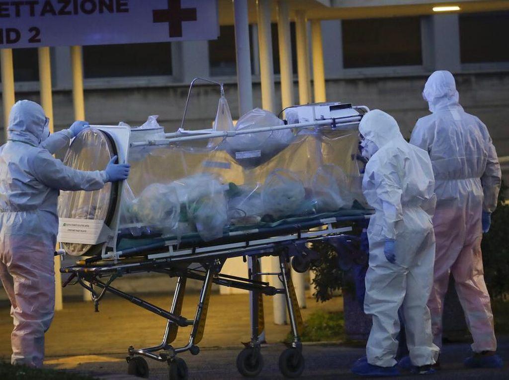 Pasien Corona yang Tewas di Spanyol Capai 4.800 Jiwa