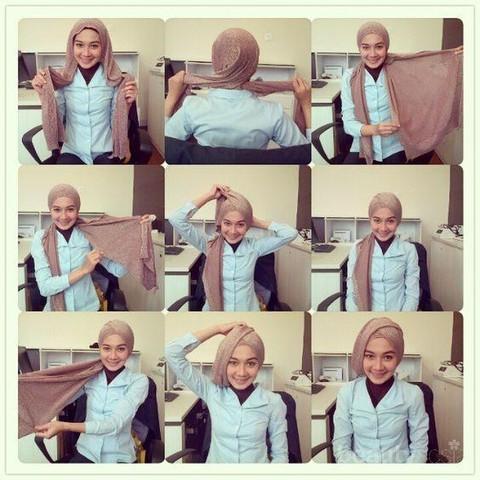 Tutorial Hijab Pengantin Ini Bisa Kalian Lakukan Sendiri Saat Pernikahan Nanti Ladies
