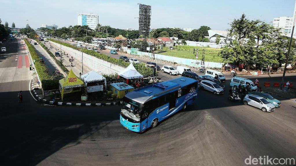 Ganjil Genap Ditiadakan, Lalin di Jakarta Ramai Lancar