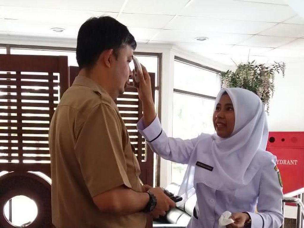 Gubernur Riau Tetapkan Status Siaga Darurat Virus Corona
