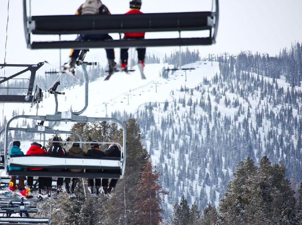 Beberapa Resor Ski di Amerika Tutup Sementara karena Virus Corona