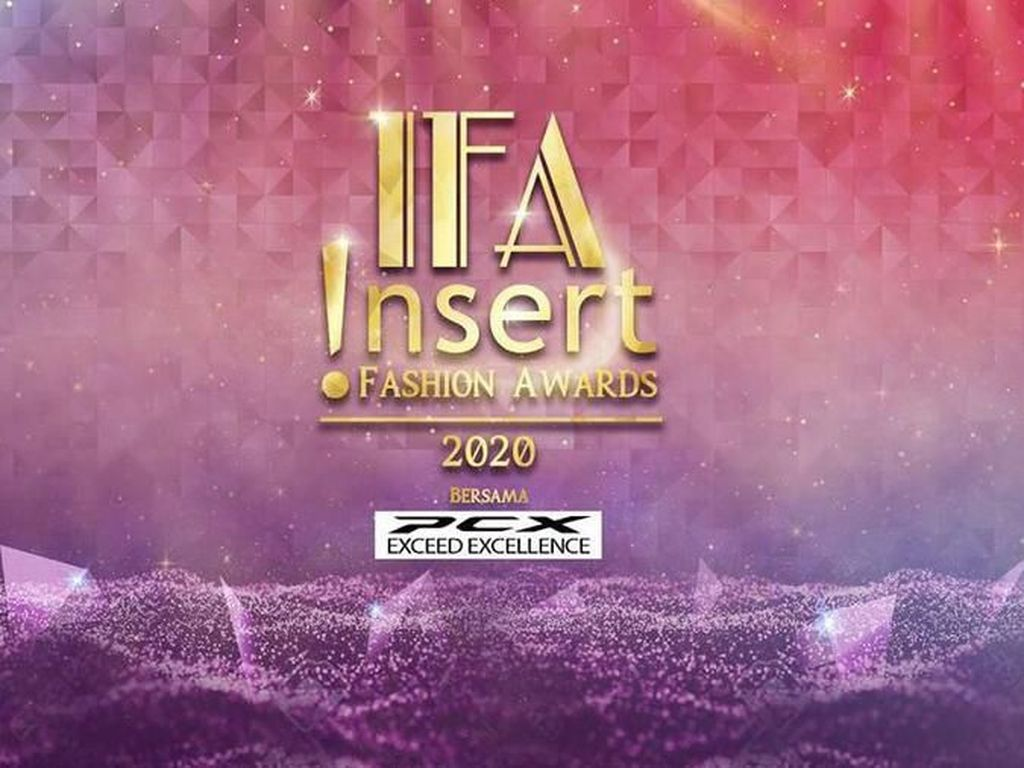 Streaming Insert Fashion Awards di Sini