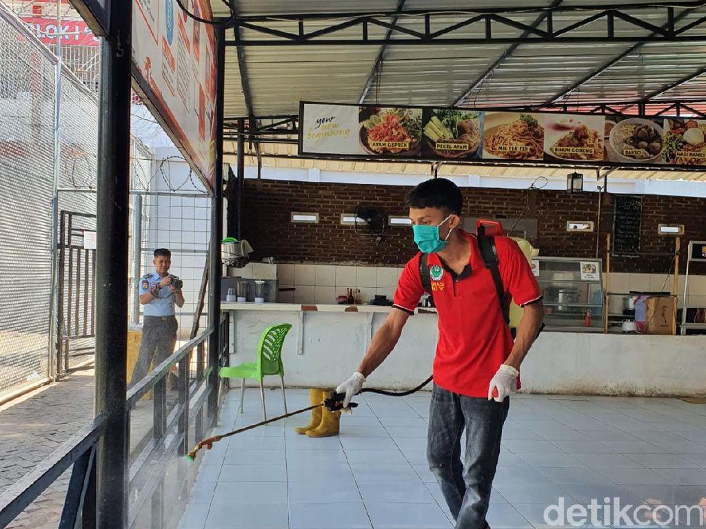 Rutan Makassar Racik Disinfektan Sendiri untuk Antisipasi Corona