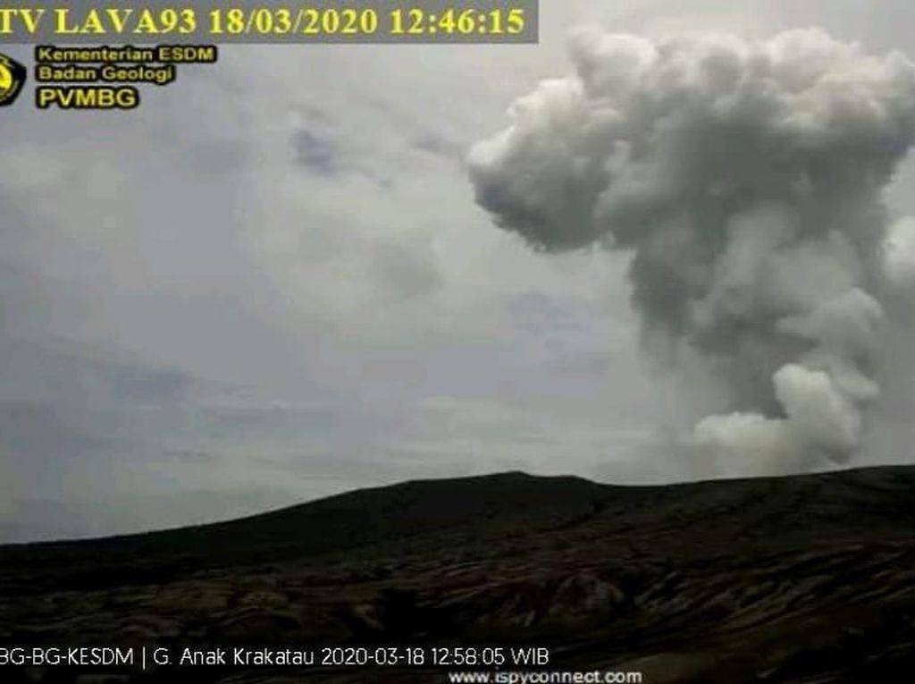 Kembali Meletus, Gunung Anak Krakatau Terakhir Erupsi 18 Maret 2020