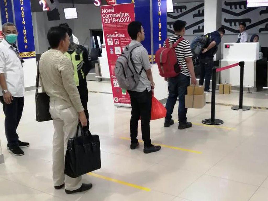 Sederet Batasan di Bandara Demi Cegah Corona
