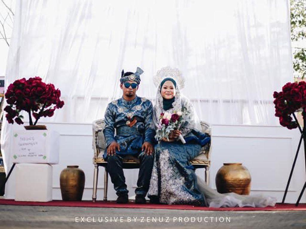 Potret Pernikahan Unik, Resepsi ala Drive-Thru untuk Cegah Virus Corona