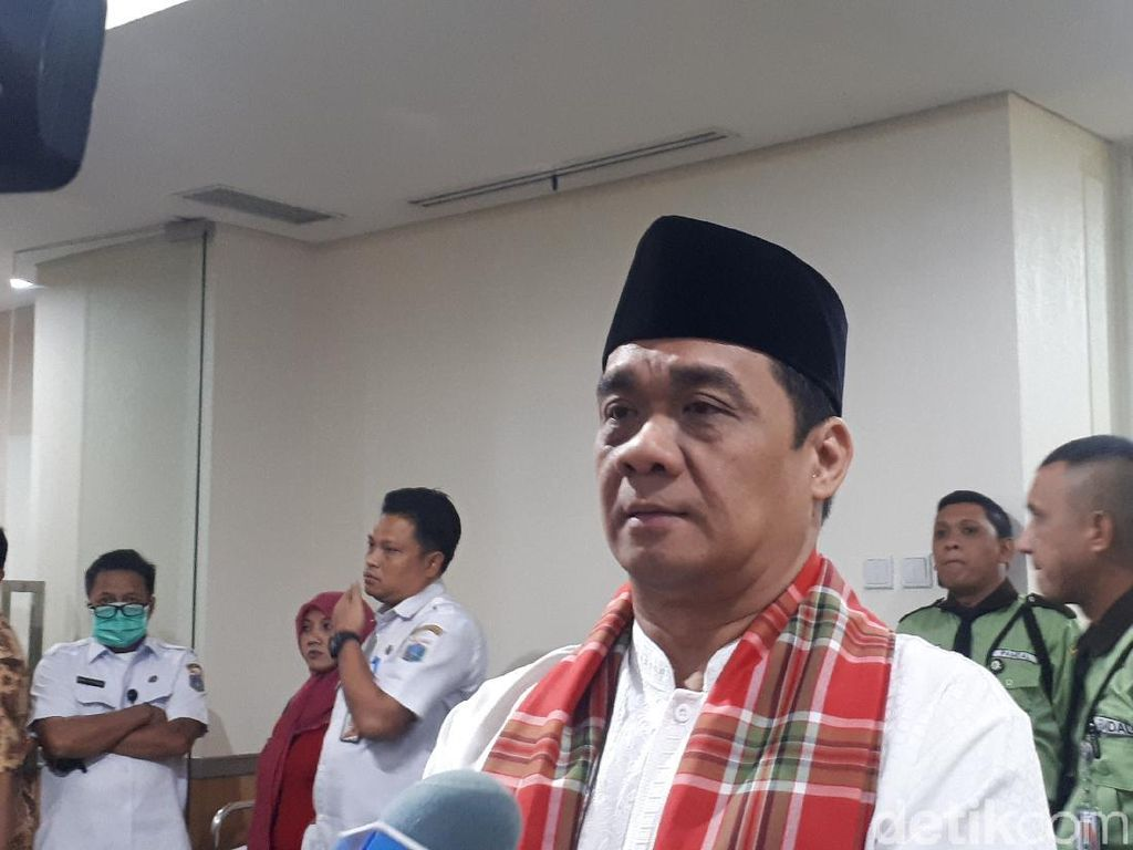 Riza Patria Jalani Tes Wawancara Cawagub DKI Jakarta
