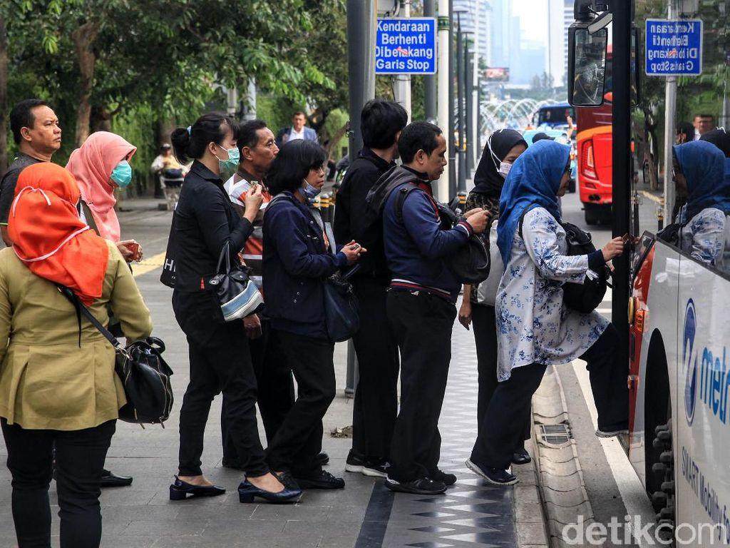 Supaya Langit dan Udara Jakarta Bersih Tak Saat PSBB Saja