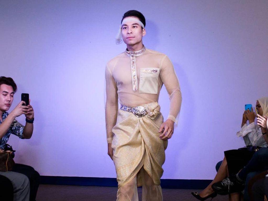 Viral, Baju Lebaran Transparan Ekspos Bagian Dada Pria Jadi Kontroversi