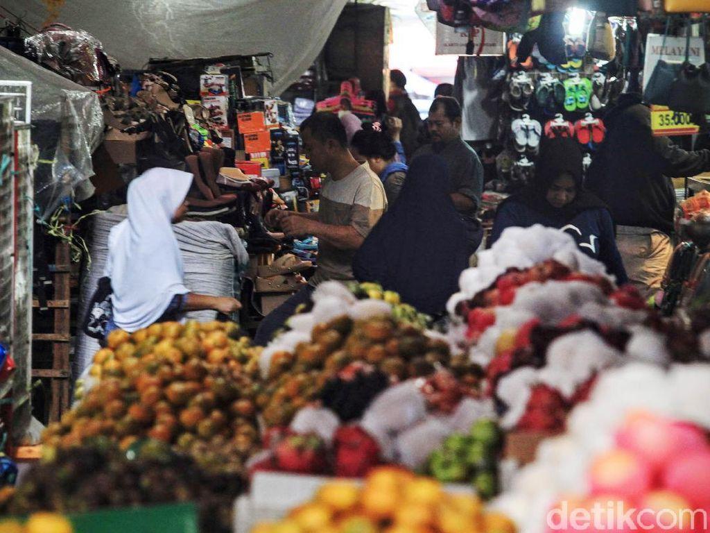 Pedagang Pasar Pilih Suplai Pangan Dijamin Aman Ketimbang BLT