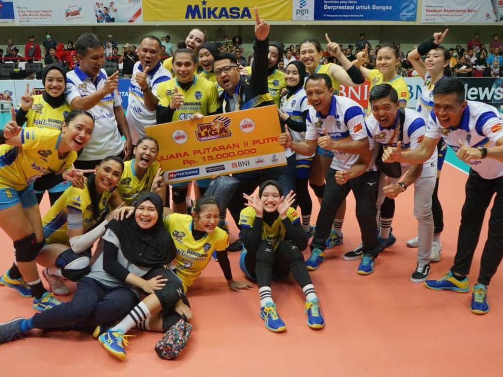 Bandung BJB Tandamata Taklukan JPE di Seri II Proliga 2020