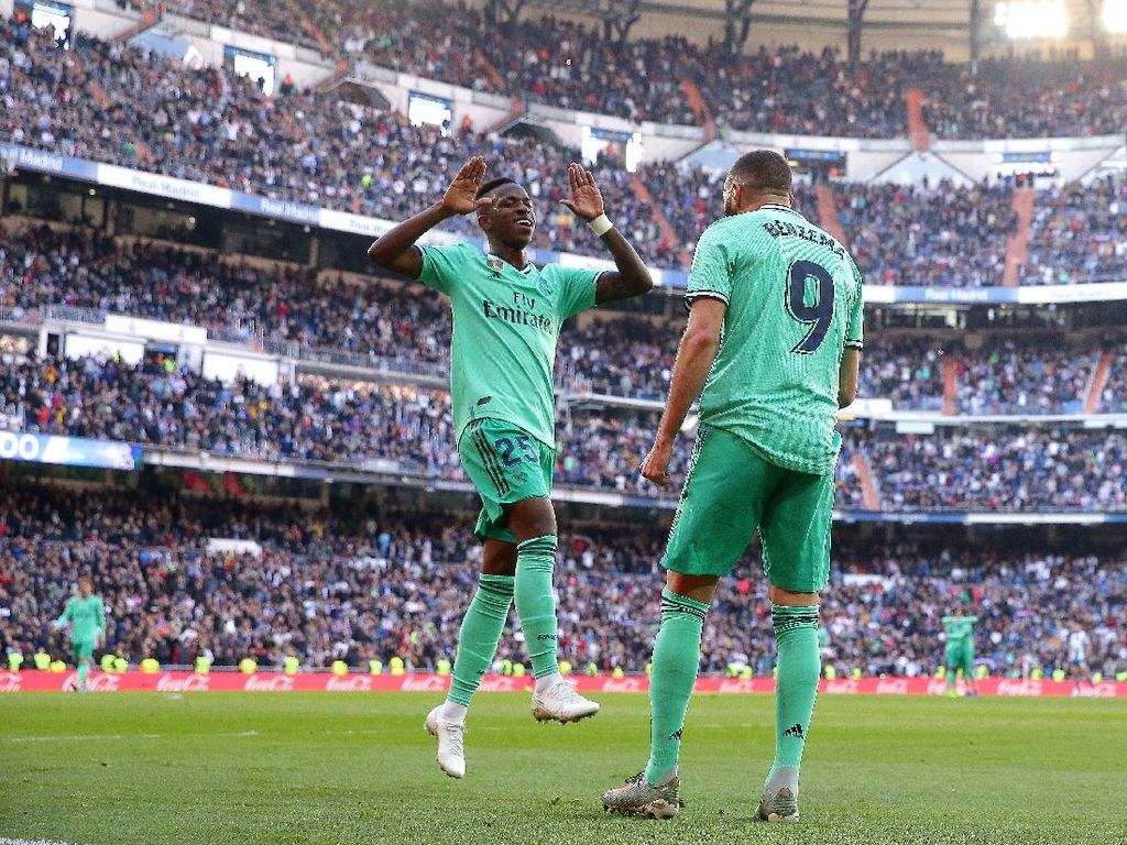 Karim Benzema yang Berjasa pada Vinicius