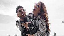 Momen Mesra Selebgram Cantik & Pesepakbola Ezequiel Garay yang Positif Corona