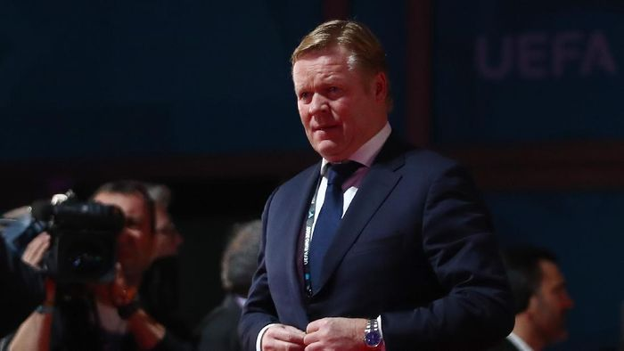 BUCHAREST, ROMANIA - NOVEMBER 30: Ronald Koeman, Netherlands Head Coach arrives at the venue prior to the UEFA Euro 2020 Final Draw Ceremony at the Romexpo on November 30, 2019 in Bucharest, Romania. (Photo by Dean Mouhtaropoulos/Getty Images)