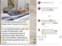 Kondisi Terkini Dokter Handoko, Tumbang Tangani Kasus Corona di Usia 80