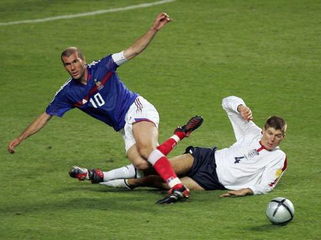 Steven Gerrard, Mimpi Tak Kesampaian Zinedine Zidane