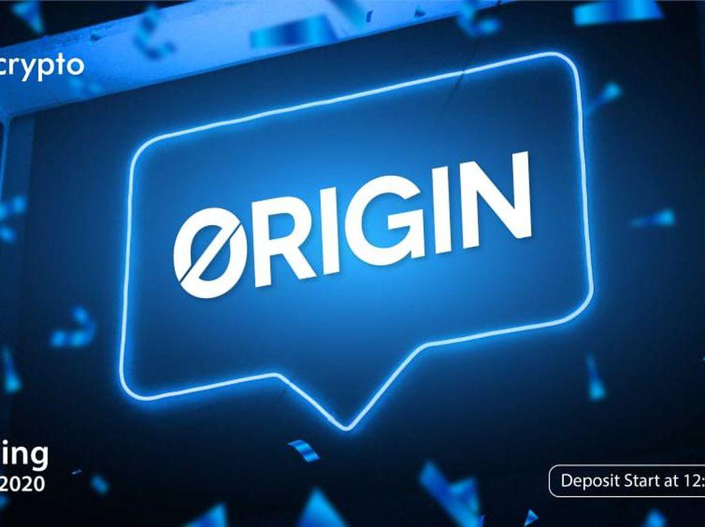Tokocrypto Mulai Jualan Token Origin