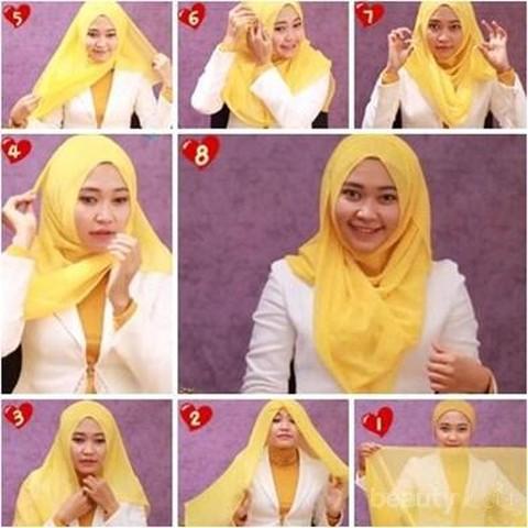 Ini Dia Tutorial Hijab Segi Empat Untuk Ke Pesta Pernikahan Bikin Tampilanmu Makin Stylish Dan Modis