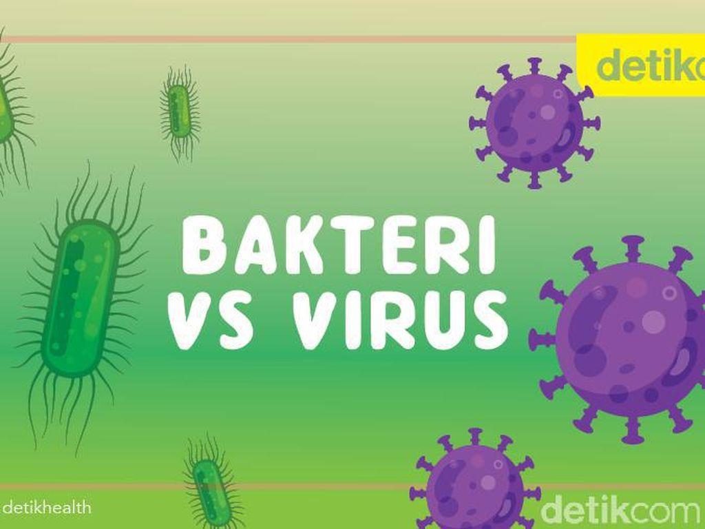 Sama-sama Kuman, Apa Bedanya Bakteri dan Virus Corona?