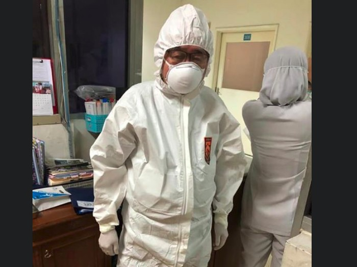 Kerja Keras Tangani Pasien Corona, Dokter Handoko Gunawan Jatuh Sakit
