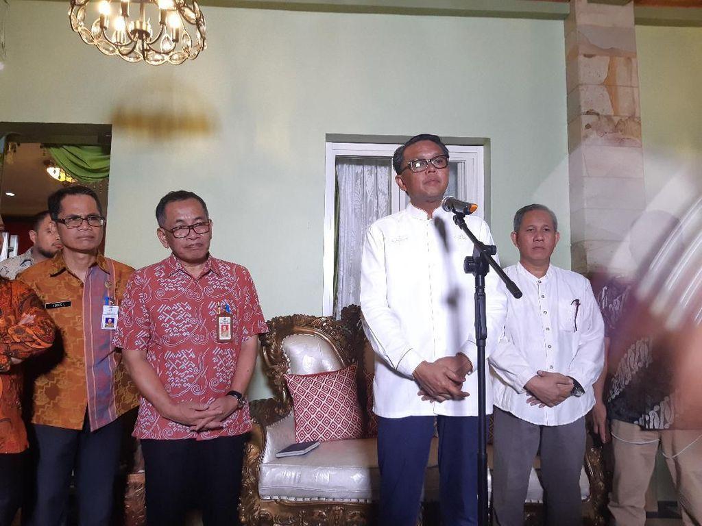 Video Gubernur Sulsel Jelaskan 2 Orang di Makassar Positif Corona