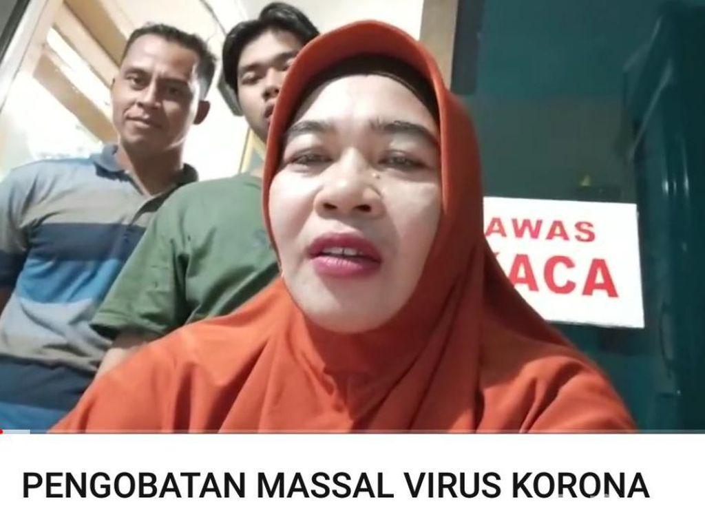 Ningsih Tinampi Buka Pengobatan Massal Virus Corona