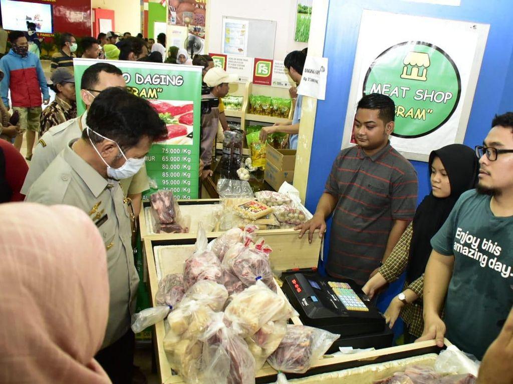 Stabilkan Harga, Mentan Lepas Pangan Murah ke 10 Pasar di Jakarta