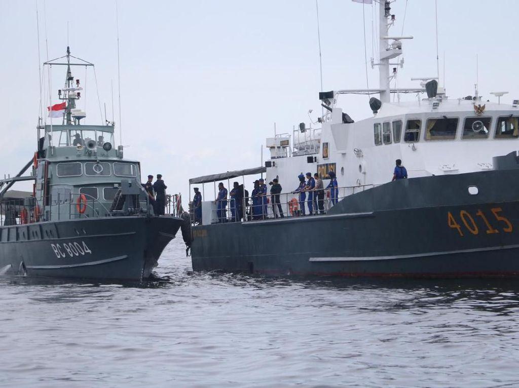 Cegah Kejahatan di Laut Saat Wabah Corona, Baharkam-Bea Cukai Patroli Bersama