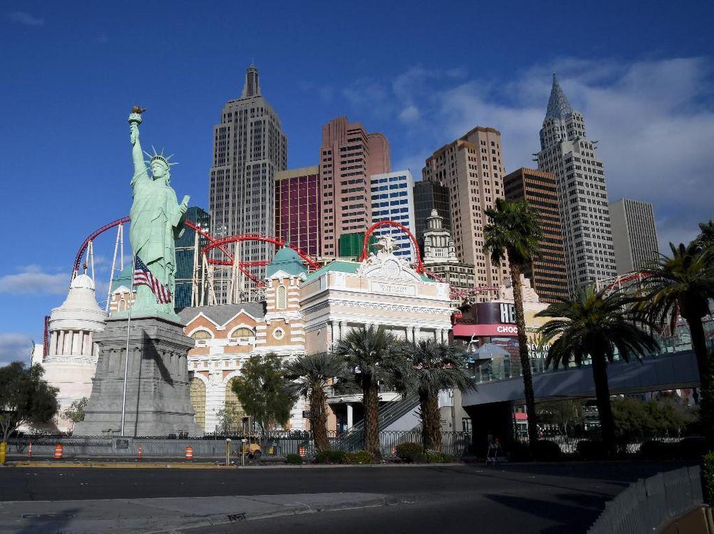 Kerusuhan Ancam Pembukaan Kembali Kasino di Las Vegas