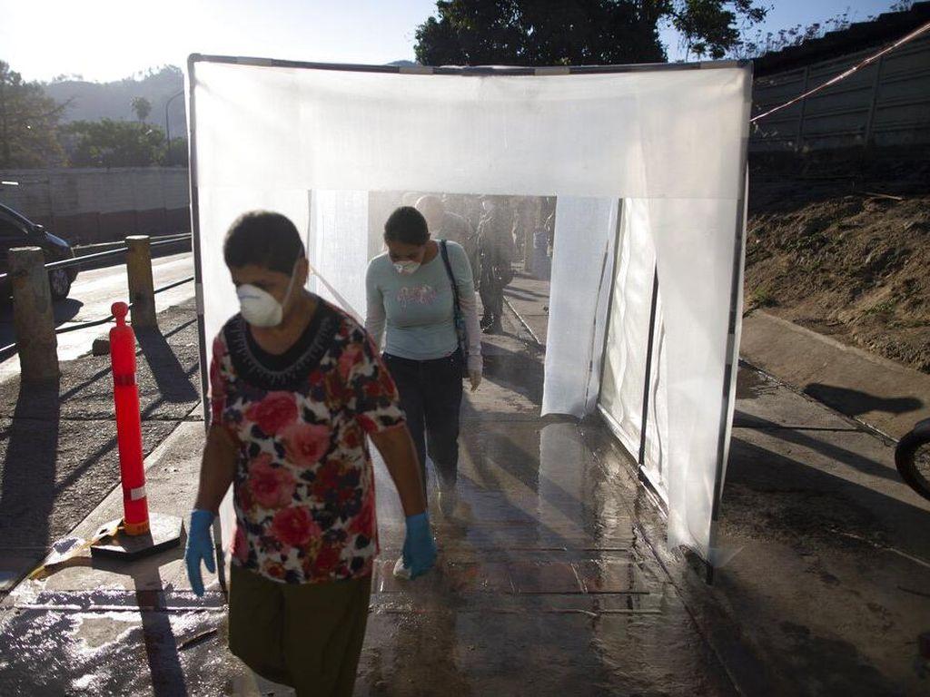 Penampakan Bilik Sakti Penghalau Corona di Venezuela