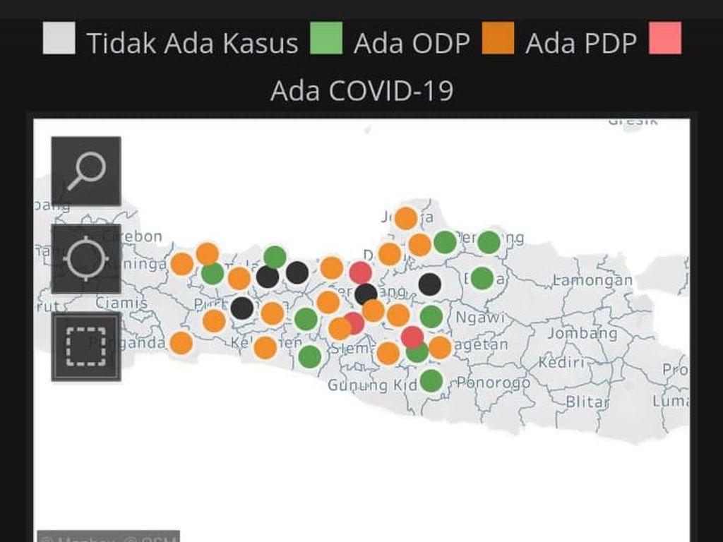 Update Corona di Jateng: 12 Positif, 3 Meninggal, 97 PDP, dan 2.202 ODP
