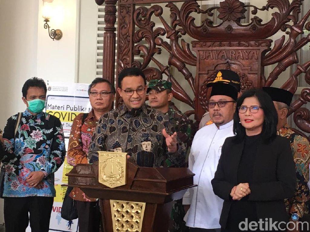 Cegah Penyebaran Corona, Anies Minta Warga Jakarta Tidak Pulang Kampung