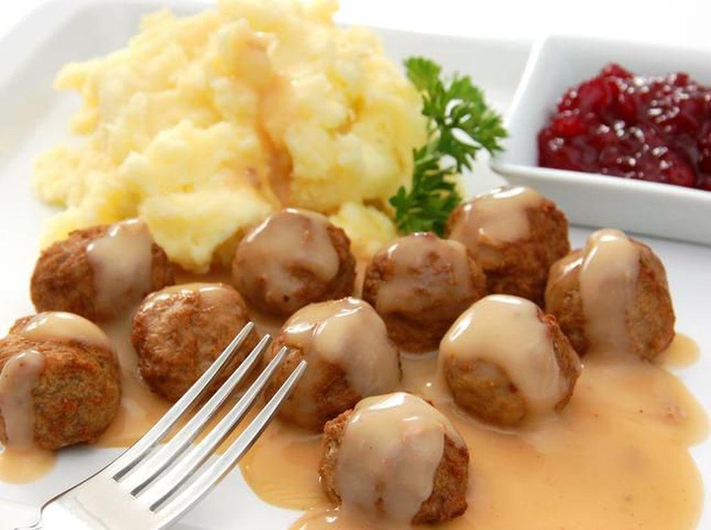 Resep Daging : Swedish Meatballs