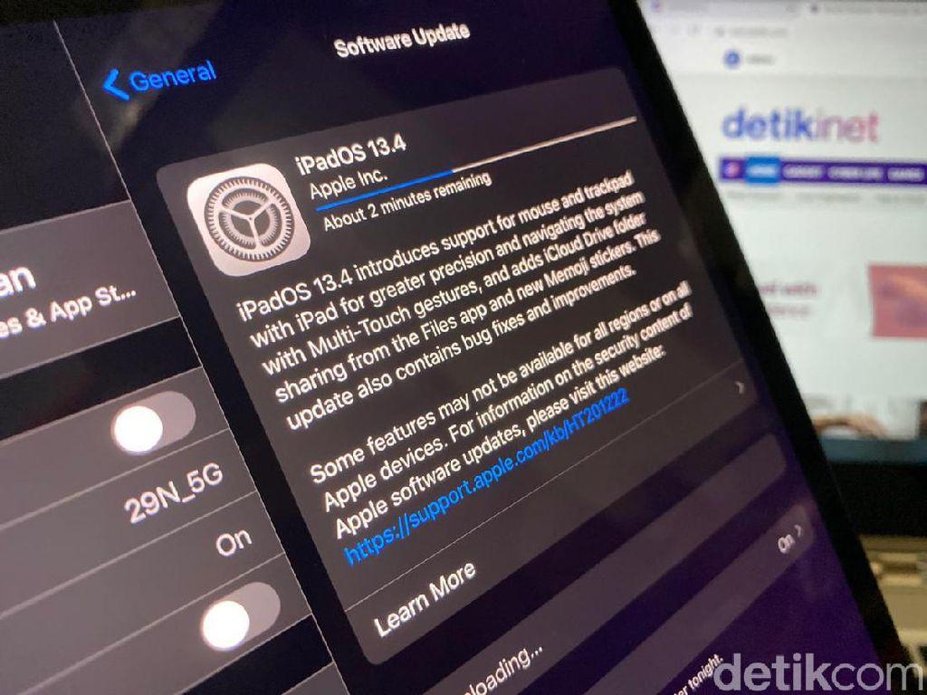 Update iOS dan iPadOS 13.4 Siap Dirilis, Ini Fitur Barunya