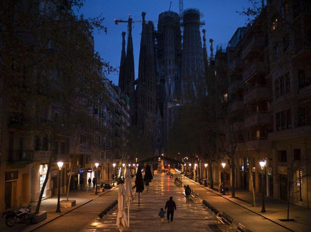 Spanyol Perpanjang Lockdown Hingga 9 Mei 2020