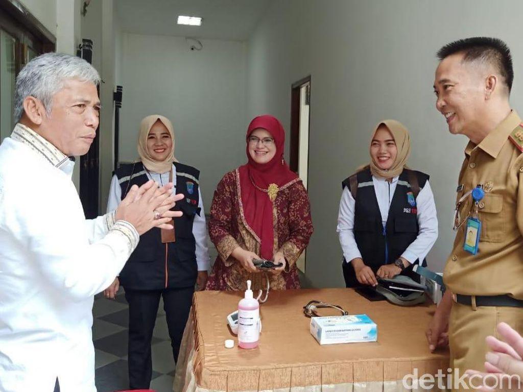 Selain Kasus Corona, Bupati Iskandar Minta Pasien DBD-ISPA di OKI Dipantau