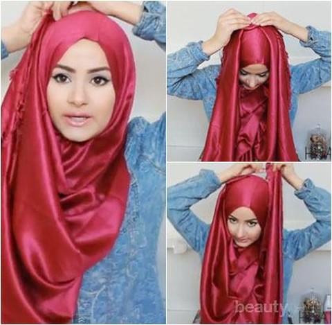 Yuk Ikuti Tips Praktis Menyimpan Hijab Satin Agar Tak Mudah Lecek Dan Tetap Awet