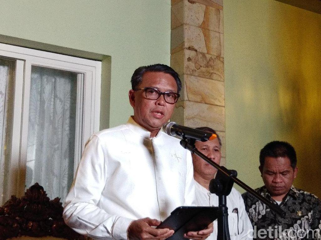 Gubernur Sulsel Tinjau Rapid Test Massal di Pasar Sentral Makassar