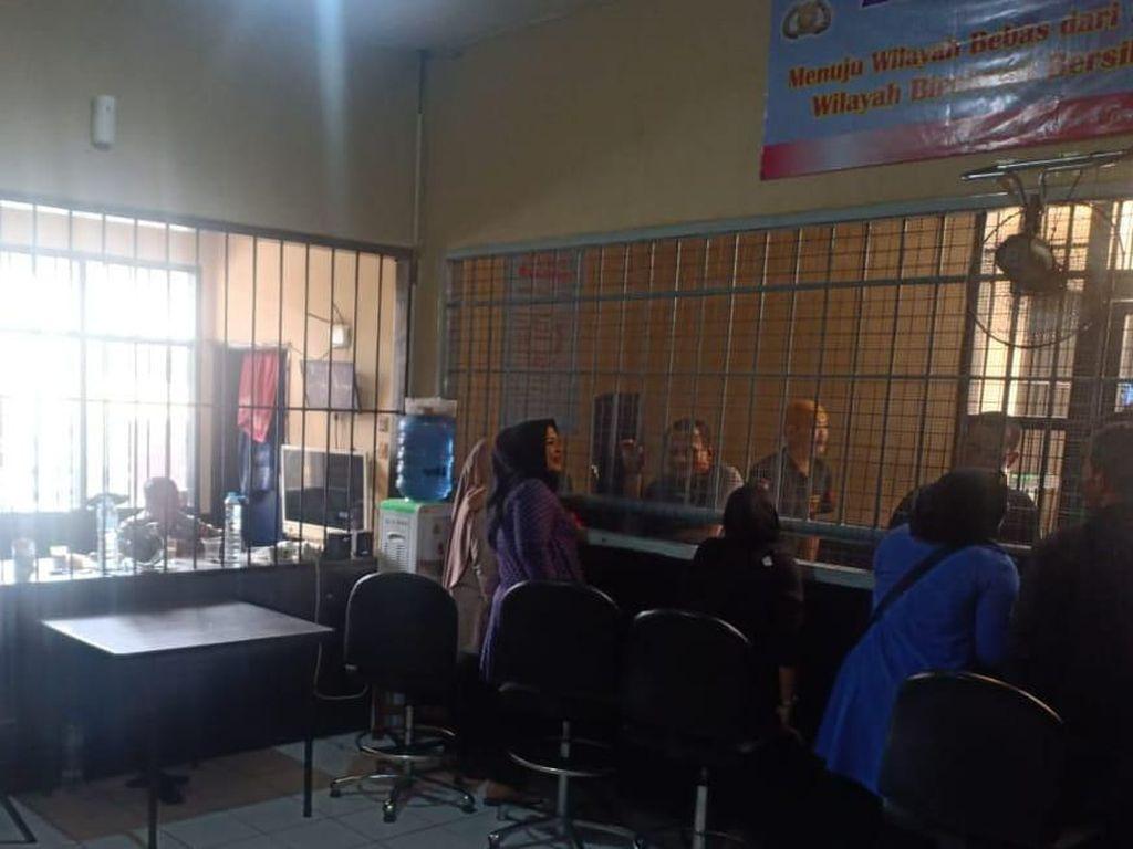 Pandemi Corona, Polresta Bandung Batasi Waktu Besuk Tahanan