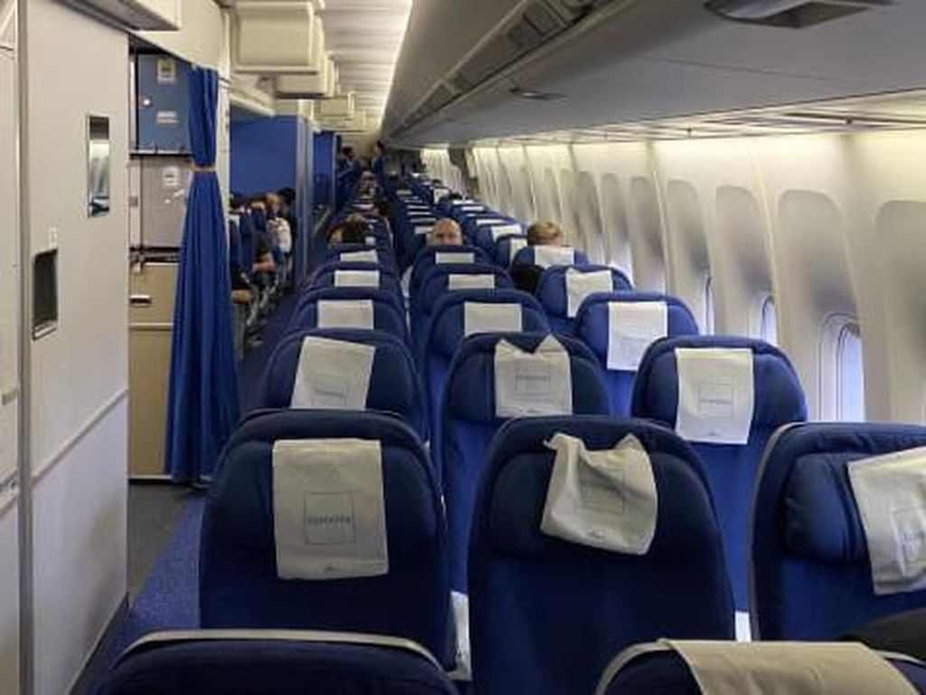 Teror Corona di Penerbangan Terakhir B747 KLM Eropa-AS