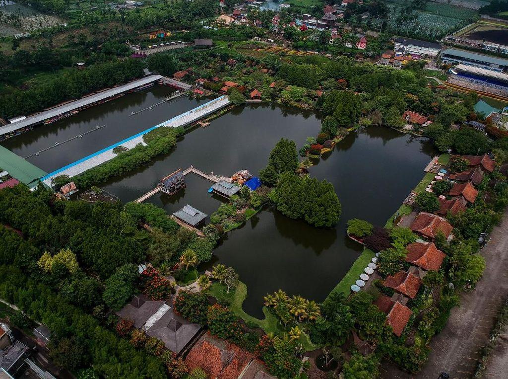 Kawasan Wisata di Lembang Mulai Ditutup