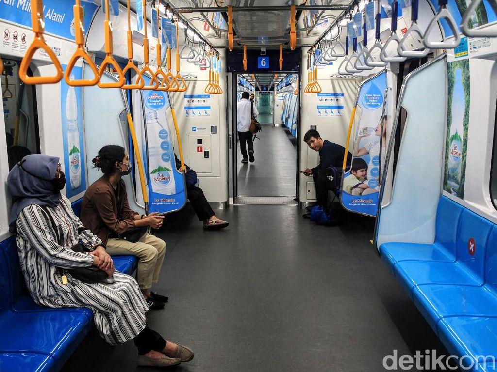 Begini Skenario MRT Jakarta Jika Penumpang Membludak