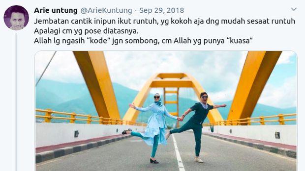 5 Kontroversi Arie Untung, Sangkakala hingga Bandingkan Virus Corona