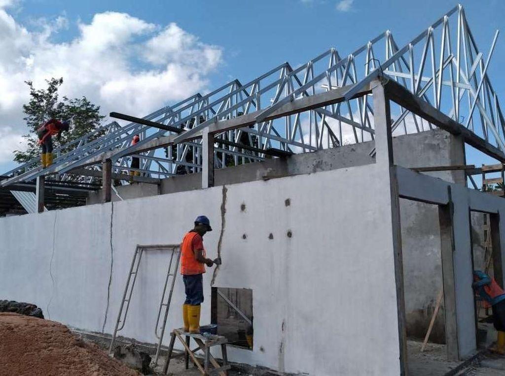 Dibuka 28 Maret, Progres RS Khusus Corona di Batam Sudah 80%