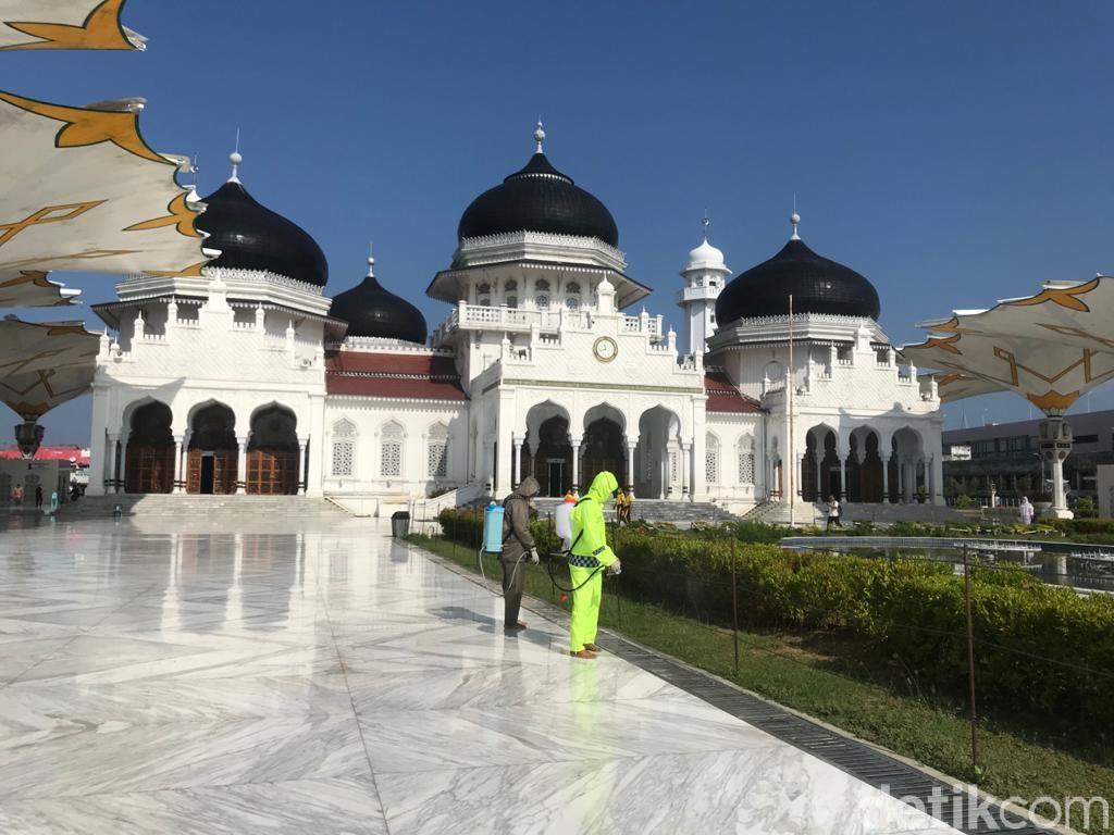 Cara Pemda di Aceh Tangani Corona: Potong SPPD Miliaran Rupiah-Sumbang Gaji