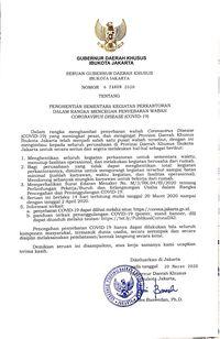 Seruan Anies: Seluruh Perkantoran Jakarta Setop 14 Hari!