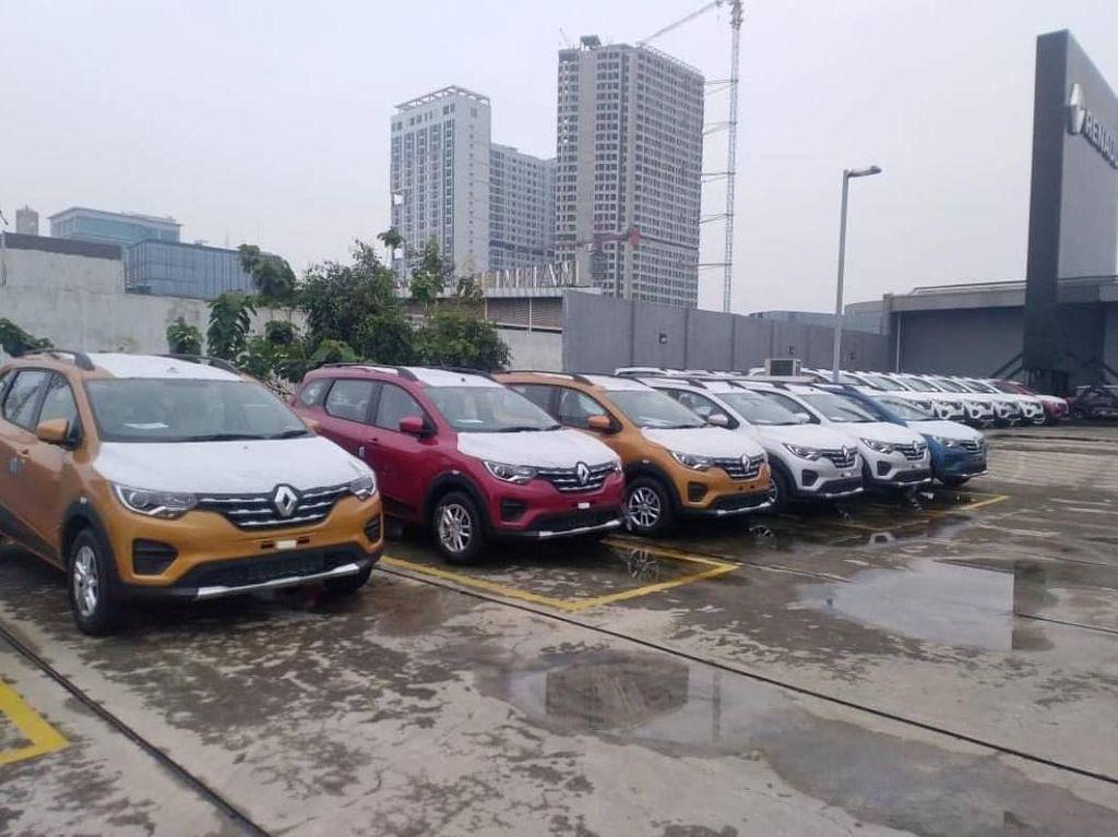 Penampakan Renault Triber di Indonesia, Siap Dikirim ke Konsumen Nih