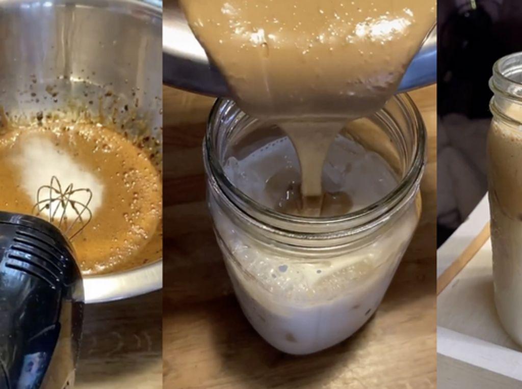 Resep Dalgona Coffee, Es Kopi Susu Creamy yang Hits di TikTok