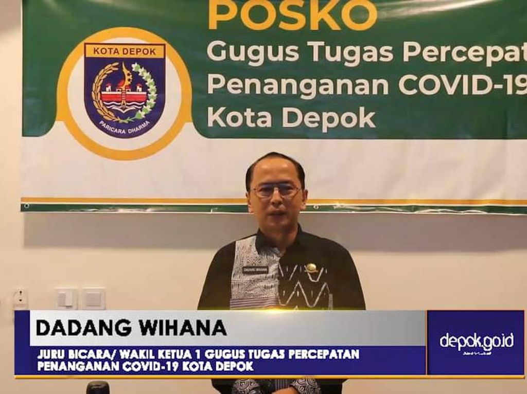 Wali Kota Depok Tetapkan Status Tanggap Darurat Wabah Corona 73 Hari